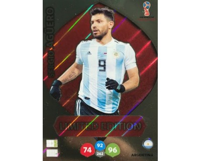 Adrenalyn World Cup 2018 AGÜERO LIMITED EDITION