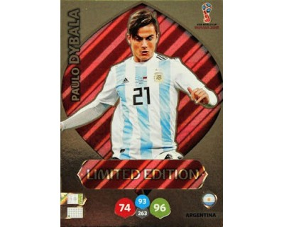Adrenalyn World Cup 2018 DYBALA LIMITED EDITION