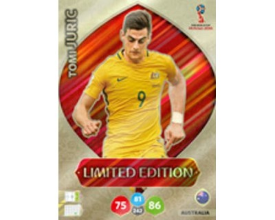 Adrenalyn World Cup 2018 TOM JURIC LIMITED EDITION