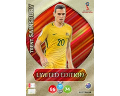 Adrenalyn World Cup 2018 TRENT SAINSBURY LIMITED EDITION