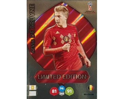 Adrenalyn World Cup 2018 DE BRUYNE LIMITED EDITION