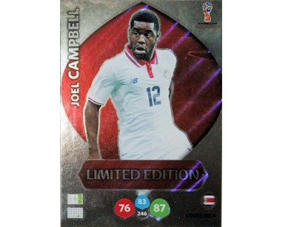 Adrenalyn World Cup 2018 JOEL CAMPBELL LIMITED EDITION