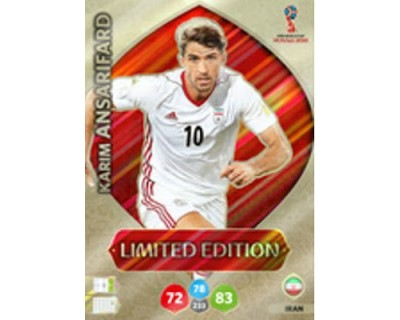 Adrenalyn World Cup 2018 ANSARIFARD LIMITED EDITION