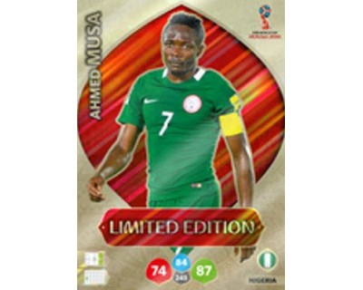 Adrenalyn World Cup 2018 AHMED MUSA LIMITED EDITION