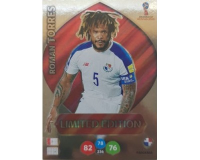 Adrenalyn World Cup 2018 ROMAN TORRES LIMITED EDITION
