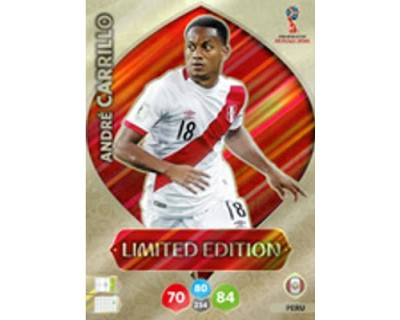 Adrenalyn World Cup 2018 ANDRE CARRILLO LIMITED EDITION