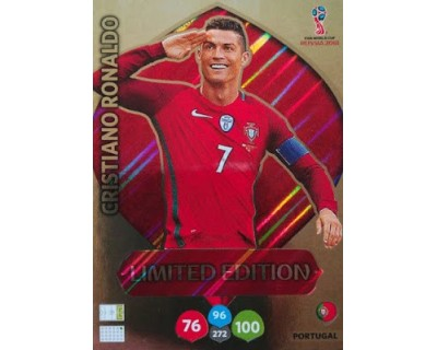 Adrenalyn World Cup 2018 RONALDO LIMITED EDITION
