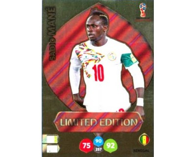 Adrenalyn World Cup 2018 SADIO MANE LIMITED EDITION
