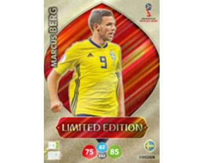 Adrenalyn World Cup 2018 MARCUS BERG LIMITED EDITION