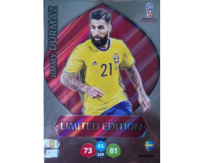 Adrenalyn World Cup 2018 JIMMY DURMAZ LIMITED EDITION
