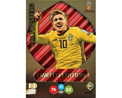 Adrenalyn World Cup 2018 EMIL FORSBERG LIMITED EDITION