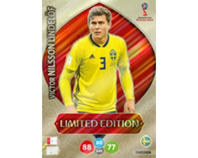 Adrenalyn World Cup 2018 NILSSON LINDELÖF LIMITED EDITION