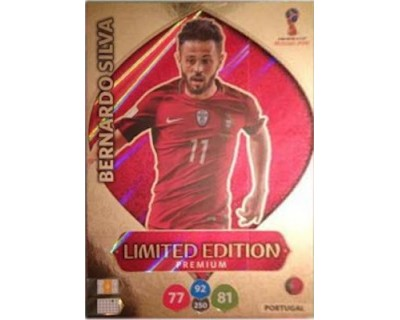 Adrenalyn World Cup 2018 BERNARDO SILVA LIMITED EDITION PREMIUM