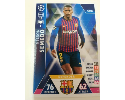 Macht Attax Champions League SEMEDO 2019 Nº 8