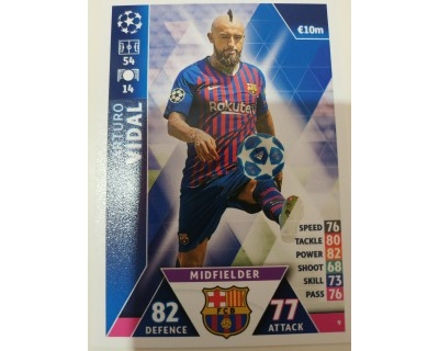 Macht Attax Champions League 2019 ARTURO VIDAL Nº 9
