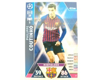 Macht Attax Champions League 2019 COUTINHO Nº 13