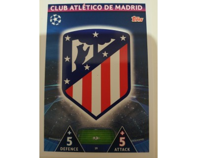 Macht Attax Champions League 2019 ESCUDO Nº 19