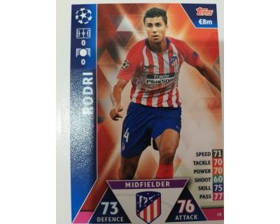 Macht Attax Champions League 2019 RODRI Nº 28
