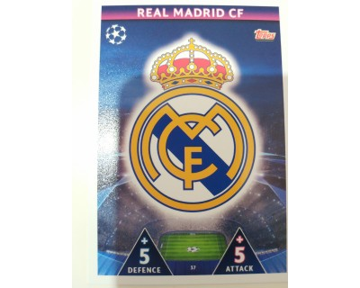 Macht Attax Champions League 2019 ESCUDO Nº 37