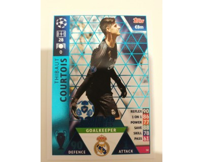 Macht Attax Champions League 2019 COURTOIS Nº 38