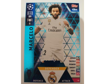 Macht Attax Champions League 2019 MARCELO Nº 40