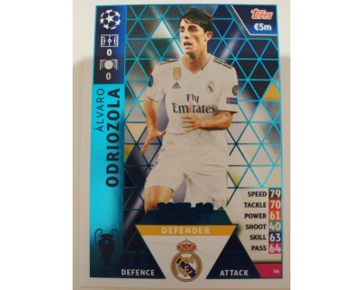 Macht Attax Champions League 2019 ODRIOZOLA Nº 44