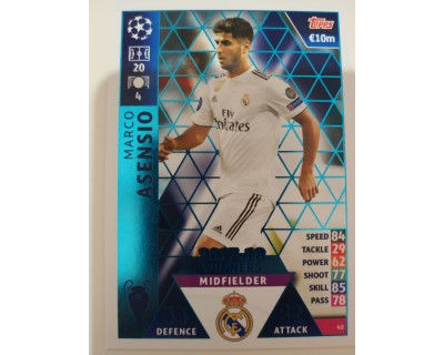 Macht Attax Champions League 2019 MARCO ASENSIO Nº 45