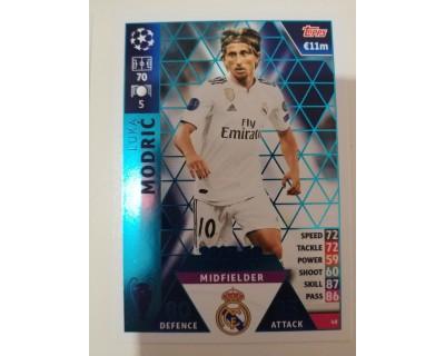 Macht Attax Champions League 2019 MODRIC Nº 48