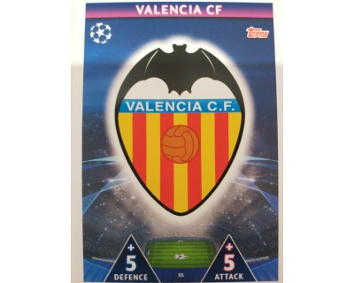 Macht Attax Champions League 2019 ESCUDO Nº 55