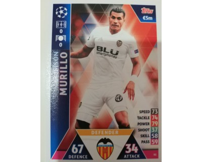 Macht Attax Champions League 2019 MURILLO Nº 61
