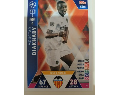 Macht Attax Champions League 2019 DIAKHABY Nº 63
