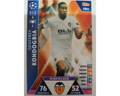 Macht Attax Champions League 2019 KONDOGBIA Nº 65