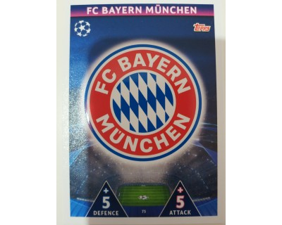 Macht Attax Champions League 2019 ESCUDO Nº 73