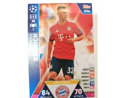 Macht Attax Champions League 2019 KIMMICH Nº 75