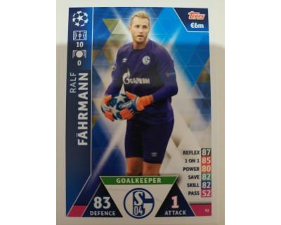 Macht Attax Champions League 2019 FÄHRMANN Nº 92