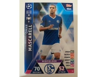 Macht Attax Champions League 2019 MASCARELL Nº 98