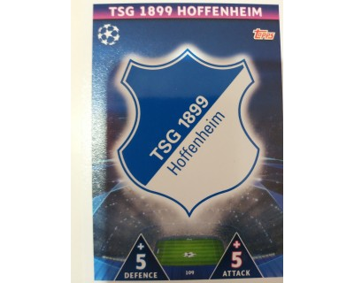 Macht Attax Champions League 2019 ESCUDO Nº 109