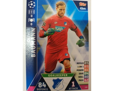 Macht Attax Champions League 2019 BAUMANN Nº 110