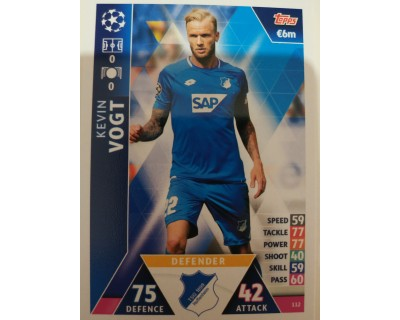 Macht Attax Champions League 2019 VOGT Nº 112