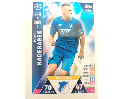 Macht Attax Champions League 2019 KADERABEK Nº 114