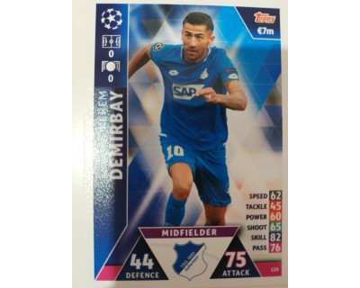 Macht Attax Champions League 2019 DEMIRBAY Nº 120