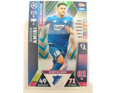 Macht Attax Champions League 2019 AMIRI Nº 121 PASS MASTER
