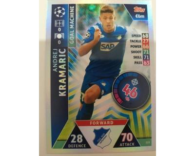 Macht Attax Champions League 2019 KRAMARIC Nº 125 GOAL MACHINE