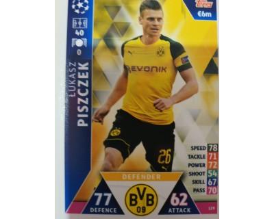 Macht Attax Champions League 2019 PISZCZEK Nº 129