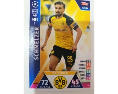 Macht Attax Champions League 2019 SCHMELZER Nº 130