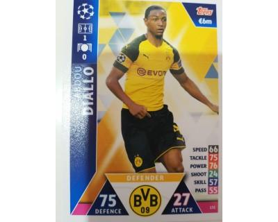 Macht Attax Champions League 2019 DIALLO Nº 131