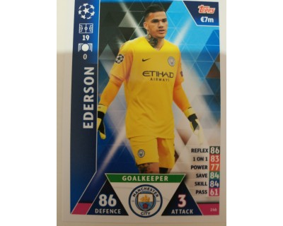Macht Attax Champions League 2019 EDERSON Nº 146