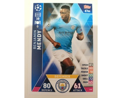 Macht Attax Champions League 2019 MENDY Nº 148