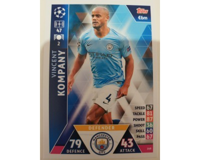 Macht Attax Champions League 2019 KOMPANY Nº 149