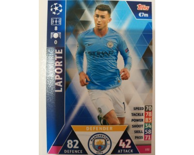Macht Attax Champions League 2019 LAPORTE Nº 152